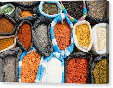 Spices  Canvas Print by Jan Komsta