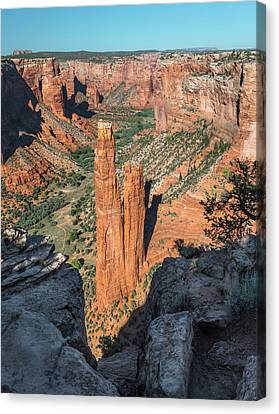 Spider Rock Canvas Print by Joseph Smith
