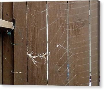 Spider Trapezists Canvas Print