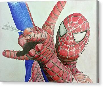 Spiderman Canvas Print by Michael McKenzie