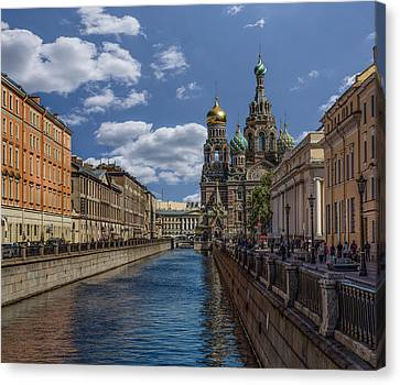 Spilled Blood Canvas Print by Capt Gerry Hare