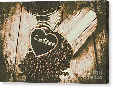 Spilling The Beans Canvas Print by Jorgo Photography - Wall Art Gallery