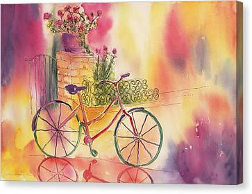 Spindly Spokes Canvas Print