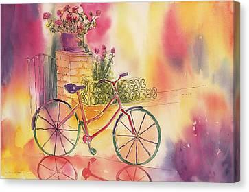 Spindly Spokes Canvas Print by Tara Moorman
