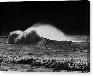 Spindrift Canvas Print by Mike  Dawson