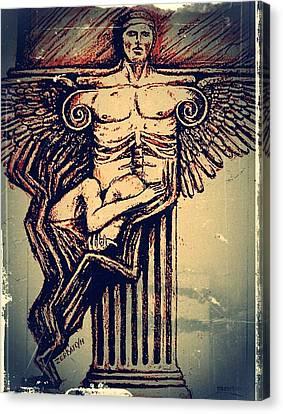 Spine Canvas Print by Paulo Zerbato