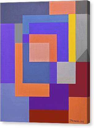 Spring 3 Abstract Composition Canvas Print