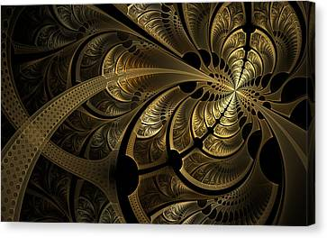 Spinning Splits Canvas Print
