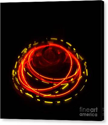 Spinning Top Canvas Print by Balanced Art