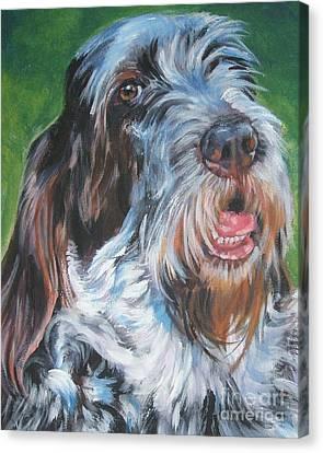 Spinone Italiano Portrait Canvas Print