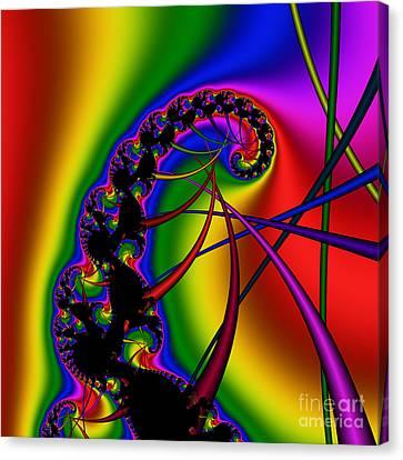 Spiral 122 Canvas Print by Rolf Bertram