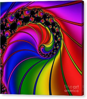 Spiral 124 Canvas Print by Rolf Bertram