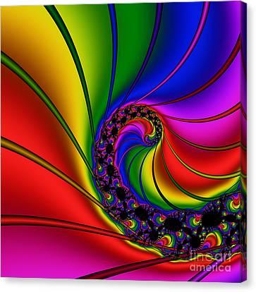 Spiral 125 Canvas Print by Rolf Bertram