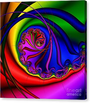 Spiral 145 Canvas Print by Rolf Bertram
