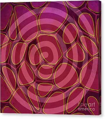 Geometric Artwork Canvas Print - Spiral 2 - Abstract Painting by Edward Fielding