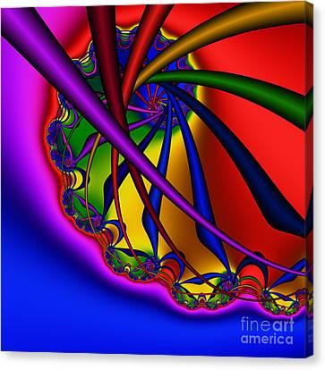 Spiral 217 Canvas Print by Rolf Bertram