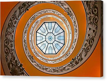 Spiral Canvas Print by Brian Bonham