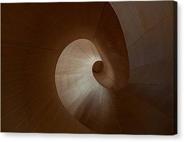 Spiral Canvas Print by Heather Bonadio