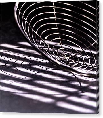 Spiral Shadows Canvas Print