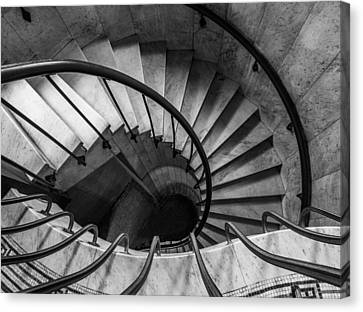 Spiral Staircase Canvas Print by Dale Kincaid