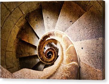 Spiral Steps Canvas Print