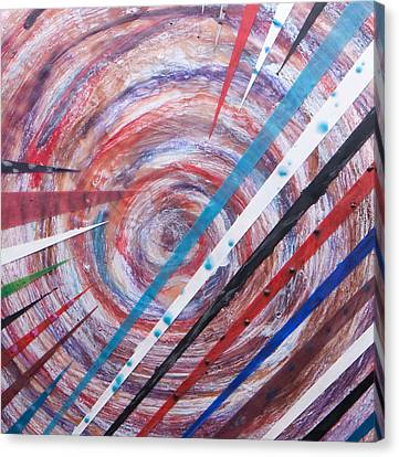 Spiral Unto Thee Canvas Print by Nell Werner