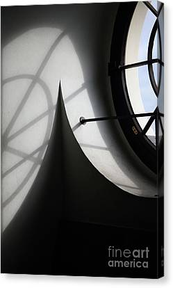 Spiral Window Canvas Print
