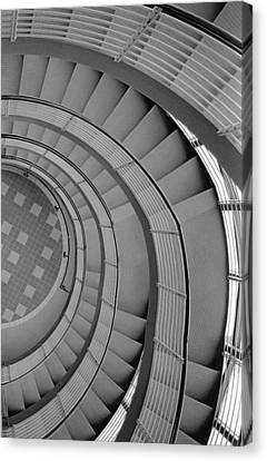 Spiraling Down  Canvas Print