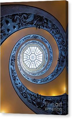 Spiraling Towards The Light Canvas Print