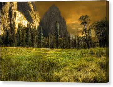 Spire Canvas Print by Michael Cleere