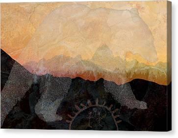 Spirit Bear # 6 Canvas Print by Ed Hall