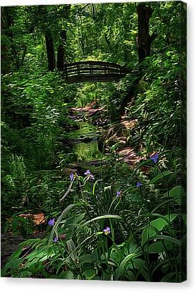 Spirit Bridge 2 Canvas Print by William Horden
