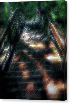 Spirit Bridge Canvas Print by William Horden