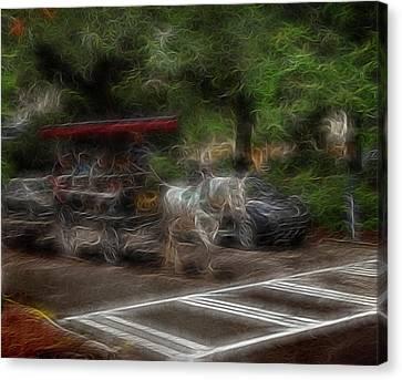 Spirit Carriage 1 Canvas Print by William Horden