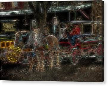 Spirit Carriage 3 Canvas Print by William Horden