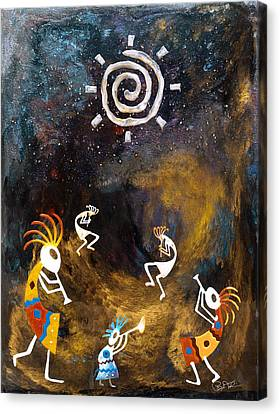 Spirit Dance Canvas Print by Paul Tokarski