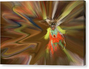 Canvas Print featuring the photograph Spirit Dance by Wayne King