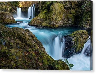 Spirit Falls Columbia River Gorge Canvas Print