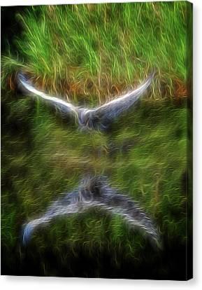 Spirit Garden 7 Canvas Print by William Horden