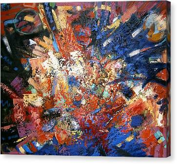 Canvas Print featuring the painting Spirit by Gary Coleman