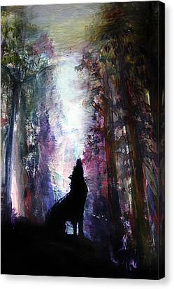 Spirit Guide Canvas Print by Frank Botello