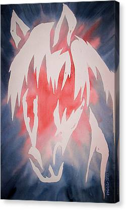Spirit Horse Canvas Print by Mark Schutter