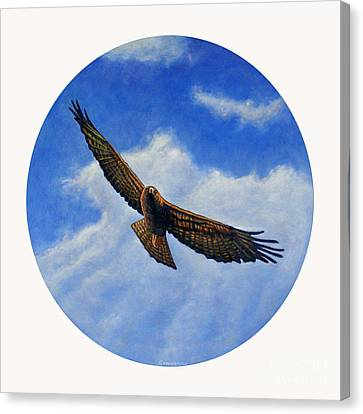 Spirit In The Wind Canvas Print by Brian  Commerford