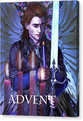 Spirit Of Advent Canvas Print