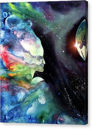 Spirit Of Creation Canvas Print by Sevan Thometz
