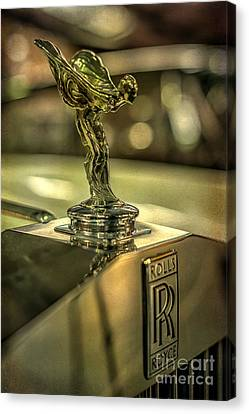 Grill Canvas Print - Spirit Of Ecstasy by Adrian Evans