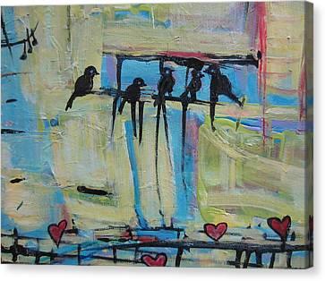 Spirit Of Joy 1 Canvas Print