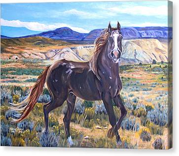 Spirit Of The Basin Canvas Print by Melody Perez