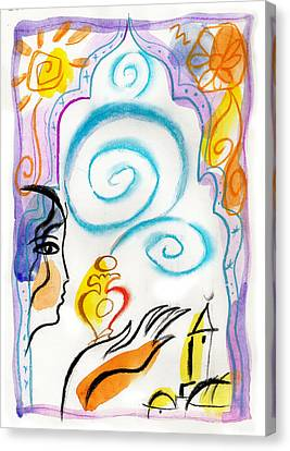 Spirit Of The East Canvas Print by Leon Zernitsky