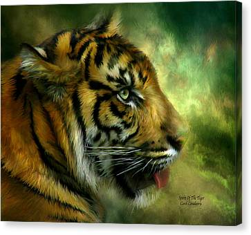 Spirit Of The Tiger Canvas Print